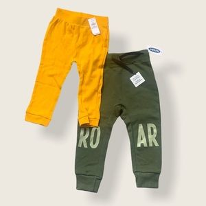 New Set of Two Old Navy Baby Jogger Leggings